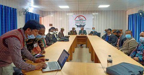 রাজশাহীতে কলেজ অধ্যক্ষদের সাথে সেনাবাহিনীর মতবিনিময়