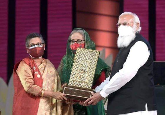 গান্ধী পদকের মর্যাদা রক্ষার ব্যার্থতায় ভুলণ্ঠিত বাংলা