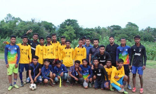 দক্ষিণ সুনামগঞ্জে মিনি ফুটবল টুর্নামেন্টের উদ্ভোধন