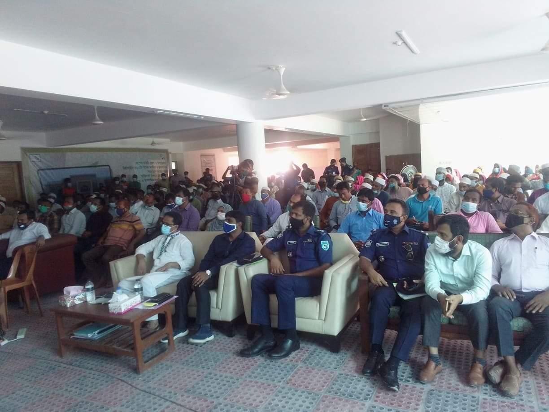 হরিপুরে মডেল মসজিদ ও ইসলামীক সাংস্কৃতিক কেন্দ্রের শুভ উদ্বোধন